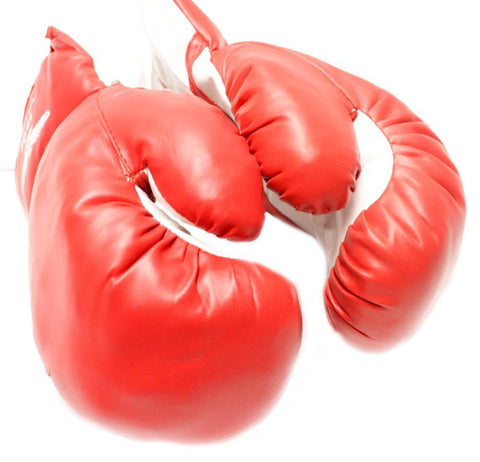 1 Pair of New Boxing / Punching Gloves and Fitness Training : Red - 16oz