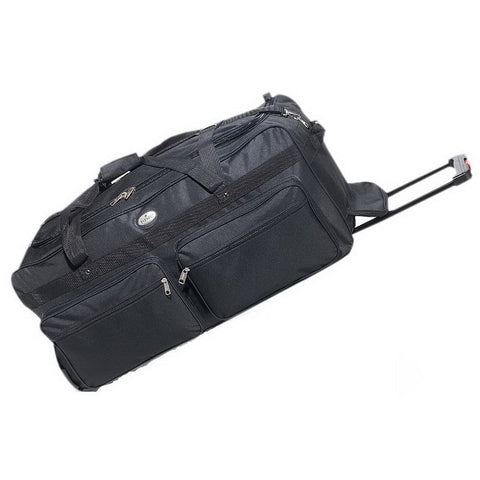 Everest 342WH Deluxe Duffel on Wheels - Black