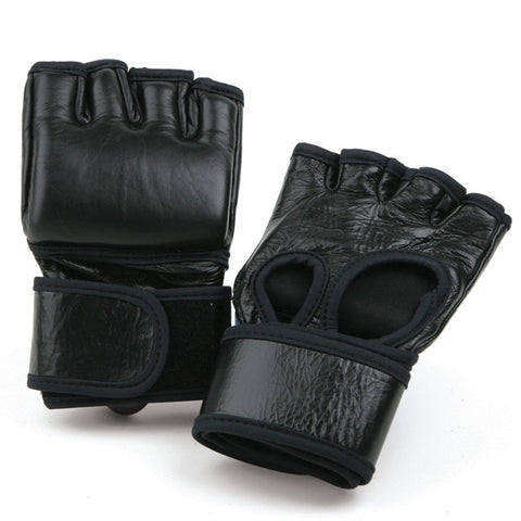 MMA Leather Competition Glove - SparringGearSet.com - 1