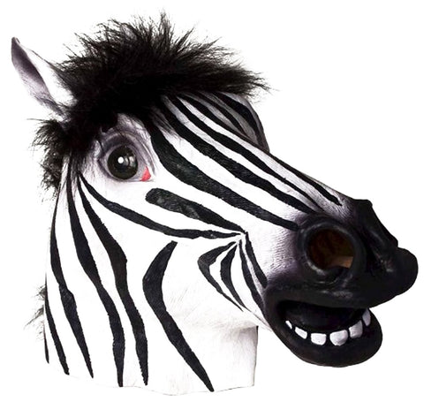 Ace Martial Arts Supply Halloween Mask- Horse, Unicorn, Zebra