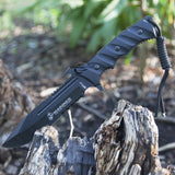 Unlimited Wares Licensed USMC Marines Tactical Hunting Knife 11.5-Inch Overall