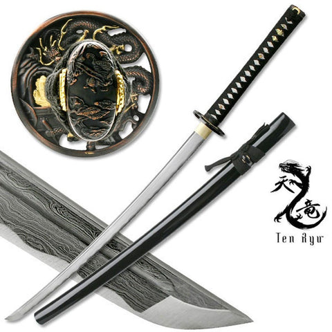 Masahiro MAZ-401 Damascus Sword of The Serpent