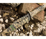 Unlimited Wares HK-1037S Camo Outdoor Fixed Blade Knife 10.5-Inch Overall