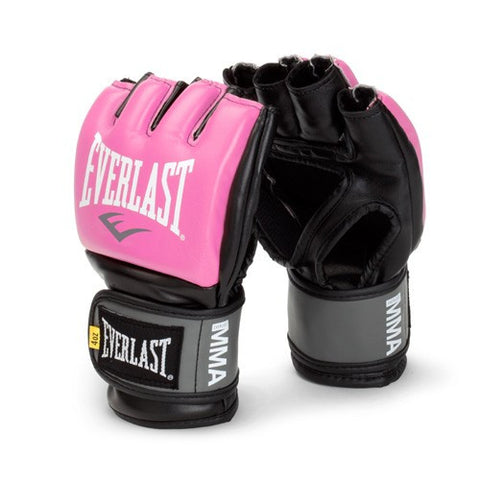 Everlast Pro Style Grappling MMA Gloves - Small/Medium - Pink - SparringGearSet.com