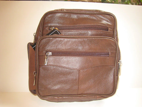 Shoulder Bag Leather--Brown--3751BR