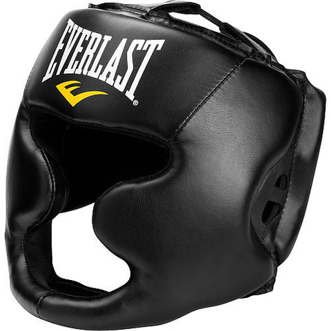 EVERLAST MMA HEADGEAR LARGE HEAD TRAINING BOXING GEAR - SparringGearSet.com