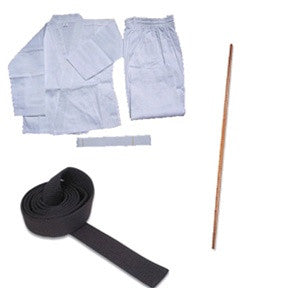 Complete Karate Set w/ Staff - SparringGearSet.com