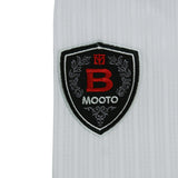 MOOTO SEASON 4 BLACK V NECK TAEKWONDO UNIFORM - SparringGearSet.com - 3