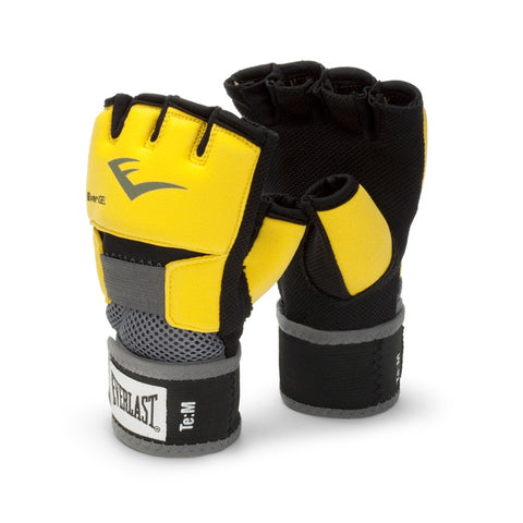 EVERLAST EVERGEL GLOVE WRAPS L-YELLOW-boxing training mma handwraps - SparringGearSet.com