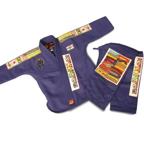 Brazilian Jiu Jitsu Uniform with Patches - SparringGearSet.com - 1