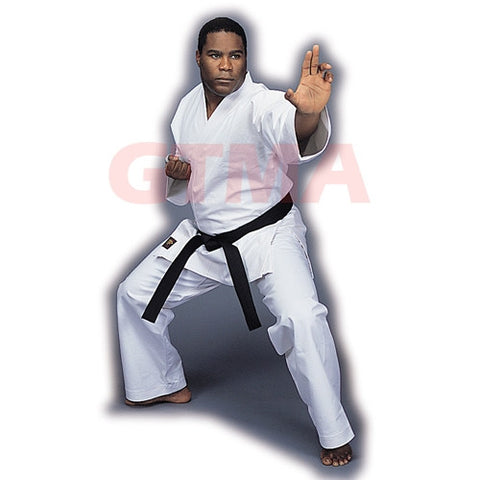 GTMA Super Heavy Weight Karate Gi, White - SparringGearSet.com - 2