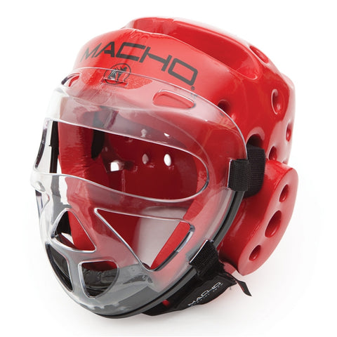 Macho Dyna Face Shield, Clear - SparringGearSet.com