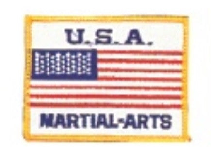 "USA with ""MARTIAL ARTS"" PATCH - SparringGearSet.com"