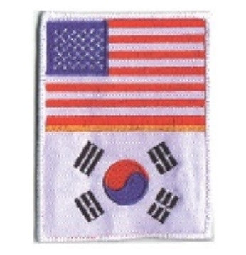 2 FLAGS PATCH - SparringGearSet.com