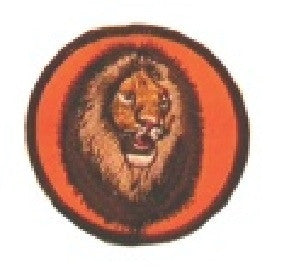 "3"" LION PATCH - SparringGearSet.com"