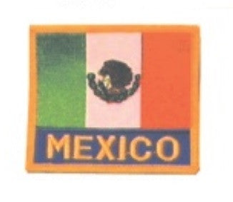 "FLAG + ""MEXICO"" PATCH - SparringGearSet.com"