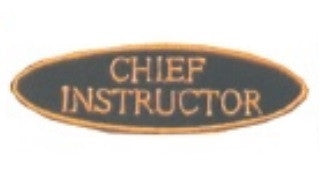 """Chief Instructor"" Patch - SparringGearSet.com"