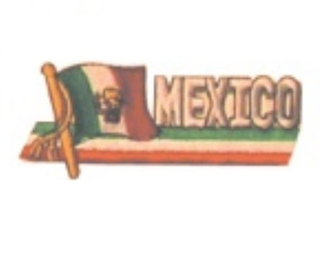 BANNER MEXICO PATCH - SparringGearSet.com