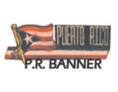 BANNER PUERTO RICO PATCH - SparringGearSet.com