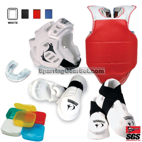 Macho Warrior Full Sparring Gear Set - SparringGearSet.com - 1
