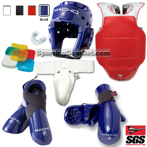 Macho Total Sparring Set - SparringGearSet.com - 1