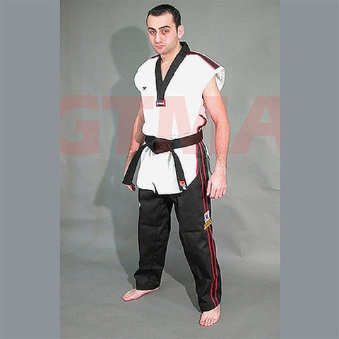 GTMA SLEEVLESS PHOENIX TKD UNIFORM - SparringGearSet.com - 1