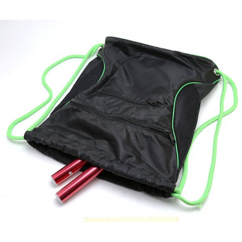 Deluxe Drawstring Sackpack -Backpack Gym Bag
