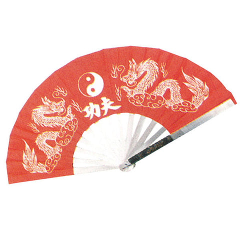 Metal Kung Fu Fighting Fans. - SparringGearSet.com