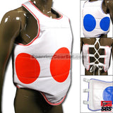 Reversible Chest Guard Dot - SparringGearSet.com - 1