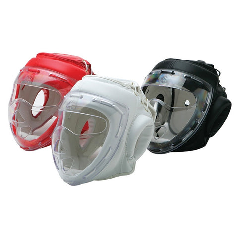 Headgear with Clear Mask - SparringGearSet.com - 1