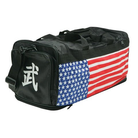 Stars & Stripes Sports Bag - SparringGearSet.com