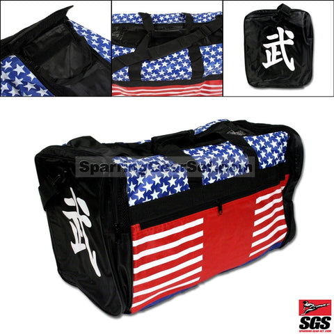 Stars & Stripes Big Sports Bag - SparringGearSet.com - 1