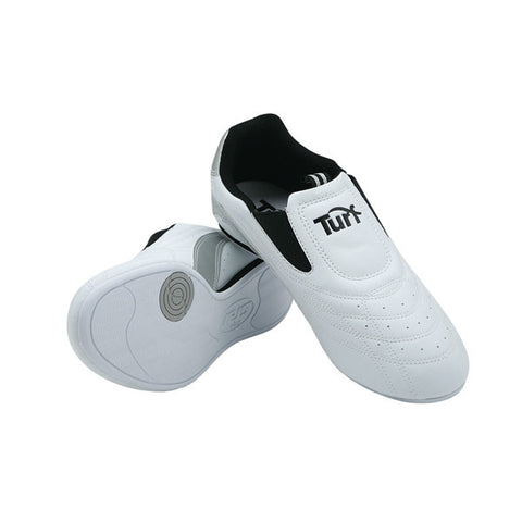 Turf Martial Arts Shoes, White - SparringGearSet.com - 1