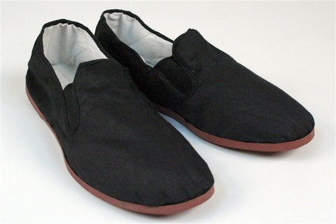 Kung Fu Shoes, Rubber Sole - SparringGearSet.com - 1