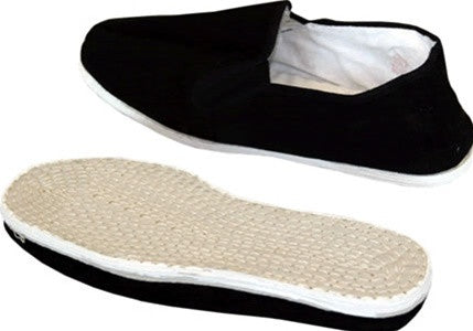 Kung Fu Shoes, Cotton Sole - SparringGearSet.com - 1