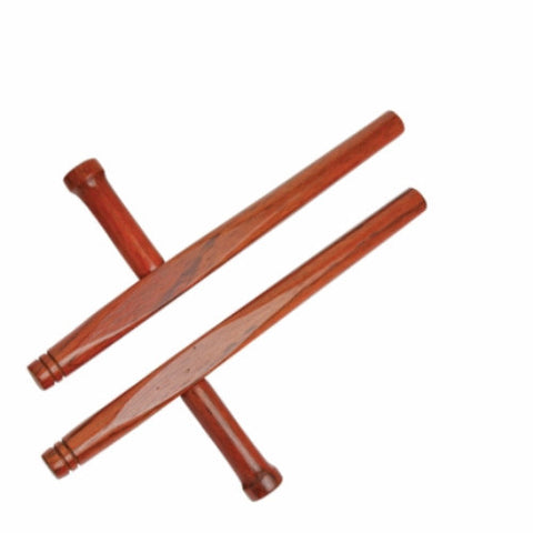 "Junior Hardwood Tonfa, Natural 14"" - SparringGearSet.com"