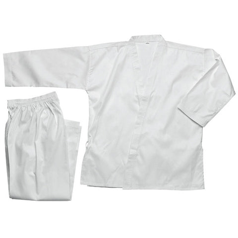 Masterline Student Karate Uniform, White - SparringGearSet.com - 1