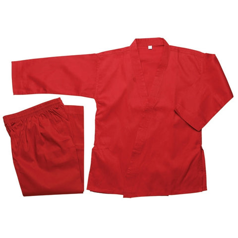 Masterline Student Karate Uniform, Red - SparringGearSet.com - 1