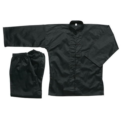 Black Kung Fu Uniform - SparringGearSet.com - 1