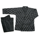 Hapkido Uniform - Black w/ White Stitching - SparringGearSet.com - 2