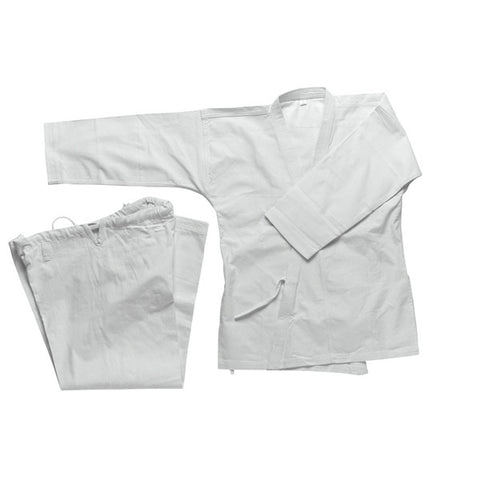 Heavy Weight Karate Uniform 12 oz - White - SparringGearSet.com - 1