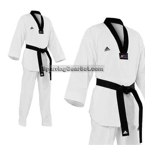 Adidas Fighter TKD Uniform - SparringGearSet.com - 1
