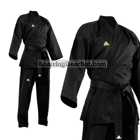 Adidas Open Uniform, Black - SparringGearSet.com - 1