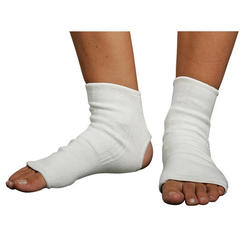 White Cloth Ankle Guard - SparringGearSet.com - 2