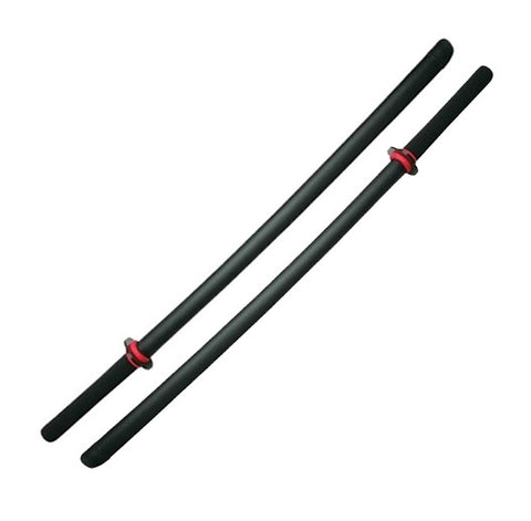 "Pair of Foam Rubber Swords, ""Daito"" (Long) - SparringGearSet.com"