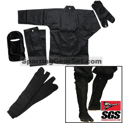 Authentic Full Ninja Uniform Set - SparringGearSet.com - 1