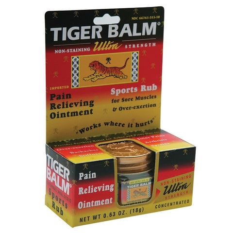 Ultra Strength Tiger Balm - SparringGearSet.com