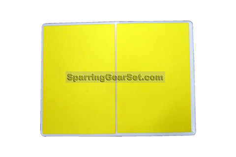 Economic Rebreakable Plastic Board - Yellow - SparringGearSet.com - 1