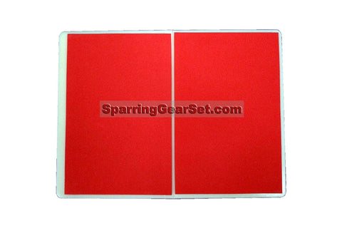 Economic Rebreakable Plastic Board - Red - SparringGearSet.com - 1