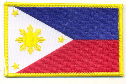 PHILIPPINES FLAG PATCH - SparringGearSet.com